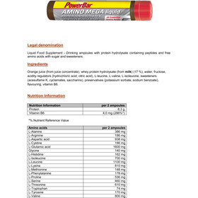 PowerBar Amino Mega Liquid 20x25ml,